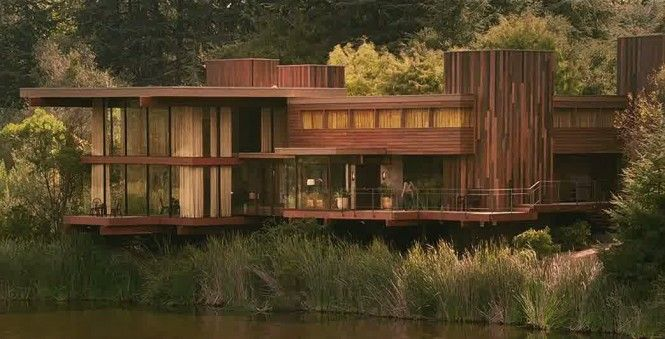 The house in 'When A Stranger Calls' has always been one of my top dream homes. #perfect