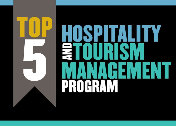 College of Health and Human Sciences: Home to our Top 5 Hospitality and Tourism Management program