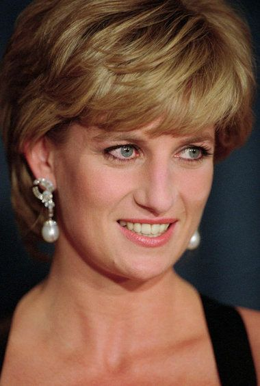 Dec. 11, 1995, Diana, Princess of Wales, smiles at the United Cerebral Palsy's annual dinner at the New York Hilton.