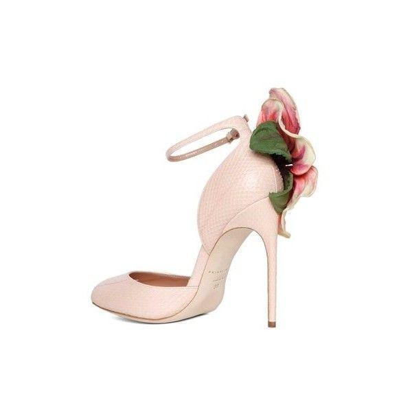 25d736a96e99 Brian Atwood  Oriana  Shoes With Flower Detail (6