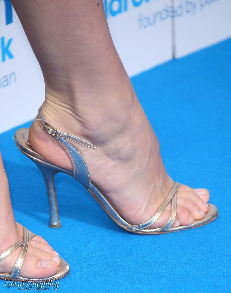 Keira knightley toes