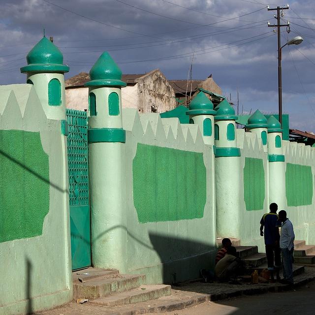Harar mosque - Ethiopia by Eric Lafforgue, via Flickr