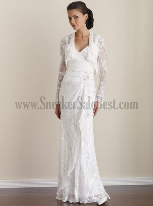Wedding gowns for older brides customize your own for Wedding dresses for 60 year old brides