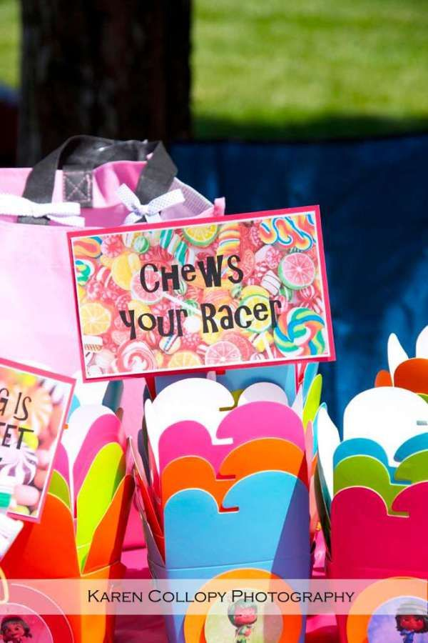 Candy Favor Boxes - Sugar Rush Party