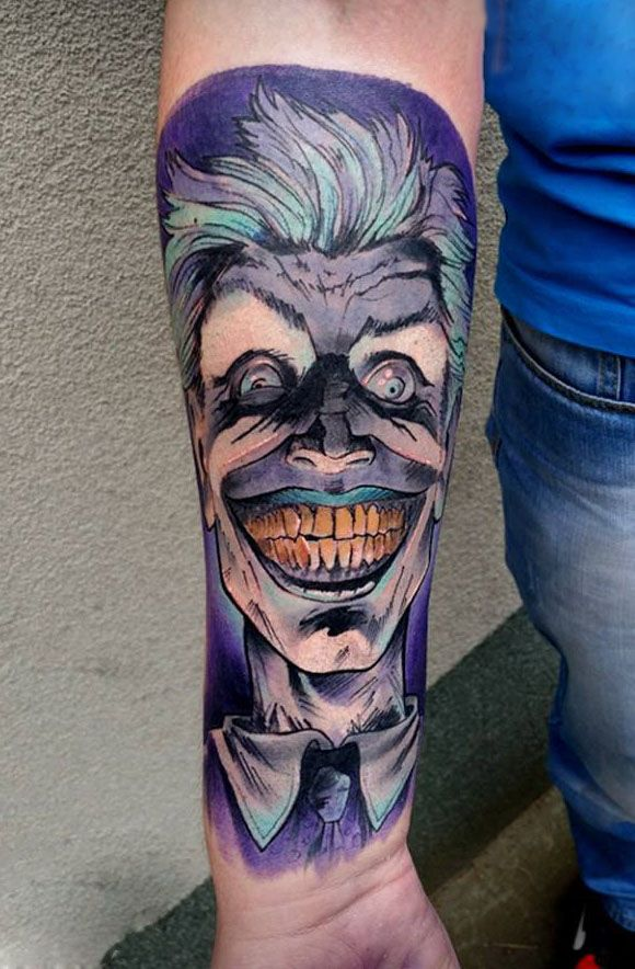 Joker   Forum o tatuażu Dziary.com