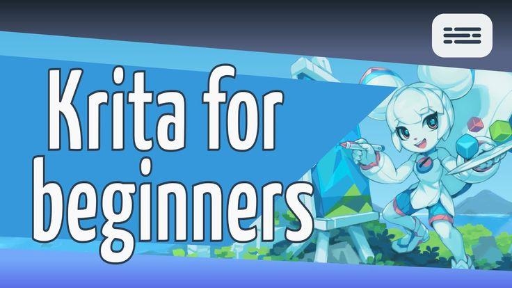 Digital painting krita for beginners digital painting