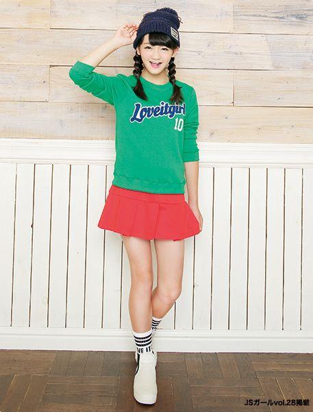 カラフル元気コーデ! ☆小学生ファッション スタイルの参考コーデ☆