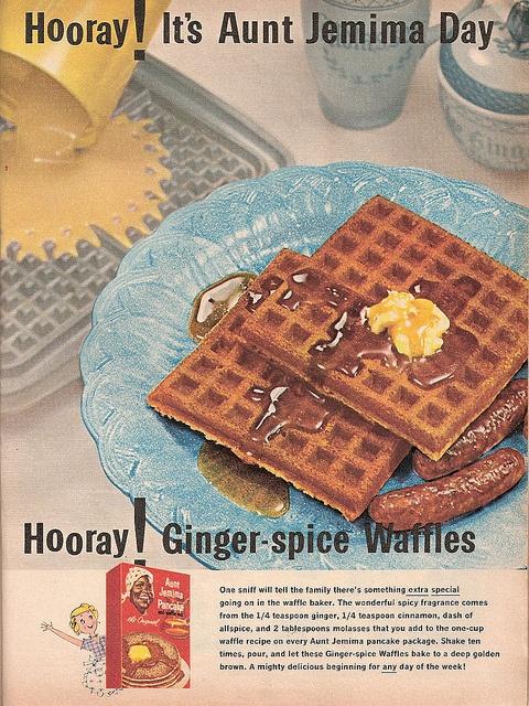 Aunt Jemima Pancake and Waffle Mix ad, Family Circle, December 1961     Great Tasting Waffle    Recipes at http://wafflerecipes.healthandfitnessjournals.com