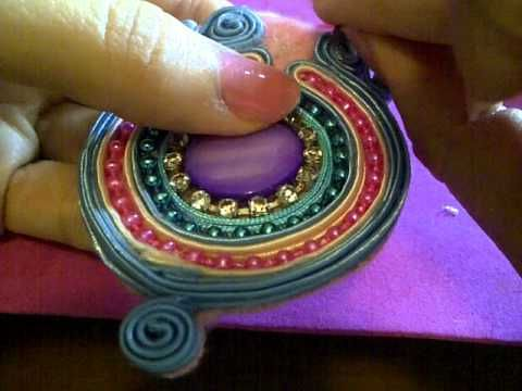 DIJE ESTILO SOUTACHE PARTE #4 de 4 - YouTube