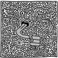 Coloring - Keith Haring