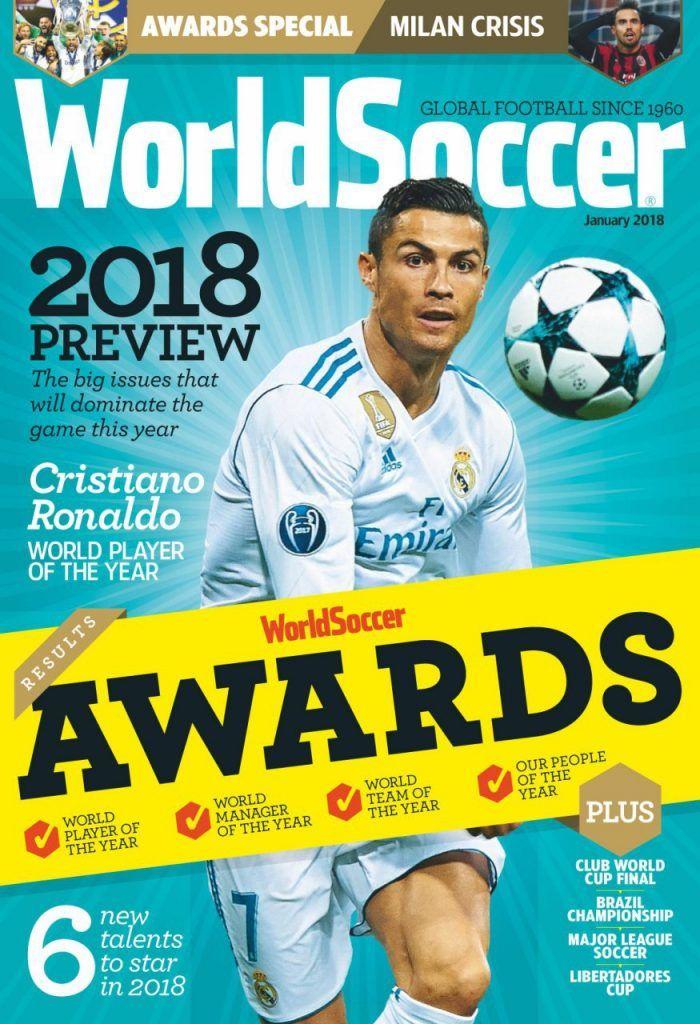 مجله فوتبال Magazine Soccer 2018 درین وب World Soccer Magazine Sports Magazine Cristiano Ronaldo