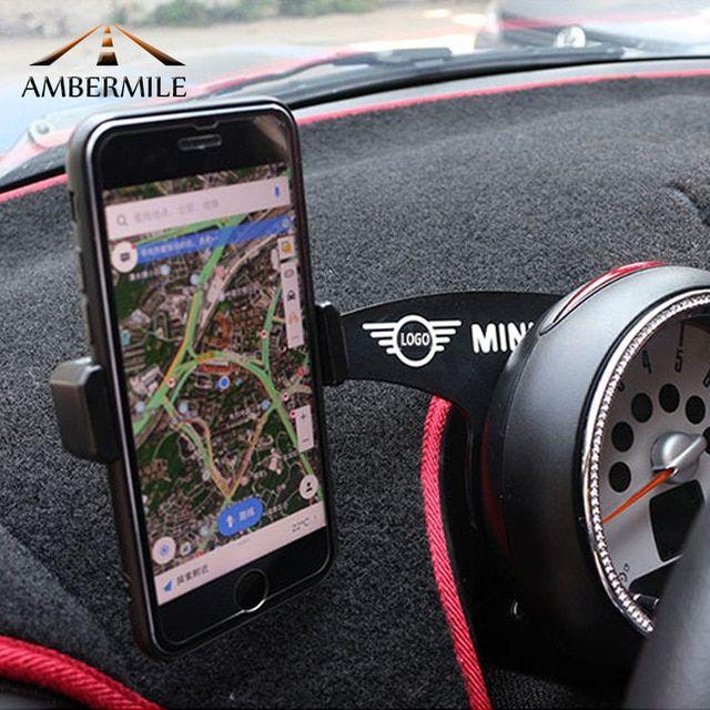Ambermile Car Mobile Phone Holder Bracket Decorations For Mini Cooper Countryman R60 Mini Cooper Countryman Mini Countryman Accessories Mini Cooper Accessories
