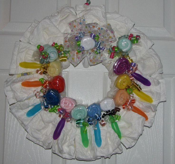 on pinterest diaper wreath zebra baby showers and diaper cakes