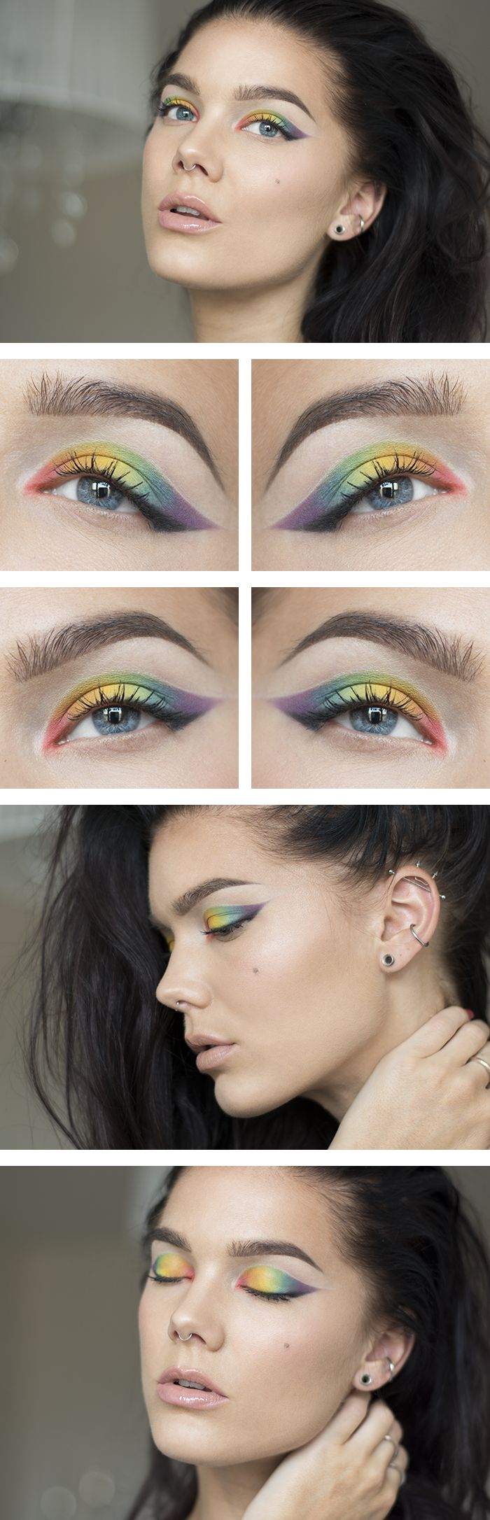 Todays look – Like a rainbow