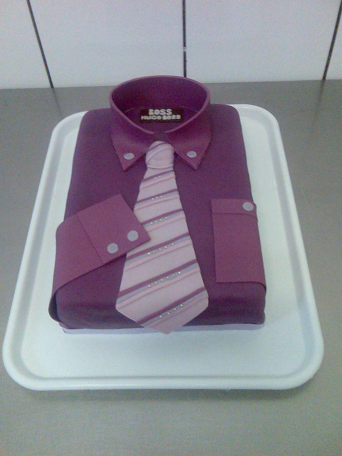 Hugo Cake Artist : Hugo Boss shirt Cake ideas Pinterest Birthdays, Cake ...