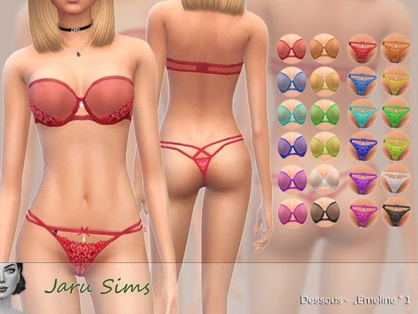 4 dessous sims [Sims 4]