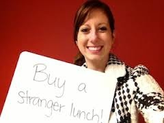 No one on EARTH should go HUNGRY!  Make a difference! BUY SOMEONE IN NEED A MEAL!    PLEASE LIKE,SHARE & REPIN!!