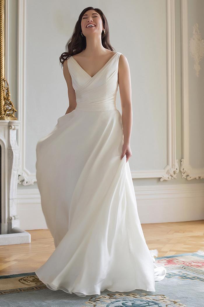 115 best augusta jones images on pinterest modest for Modest wedding dresses seattle