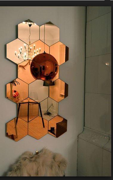 arrangement of mirror