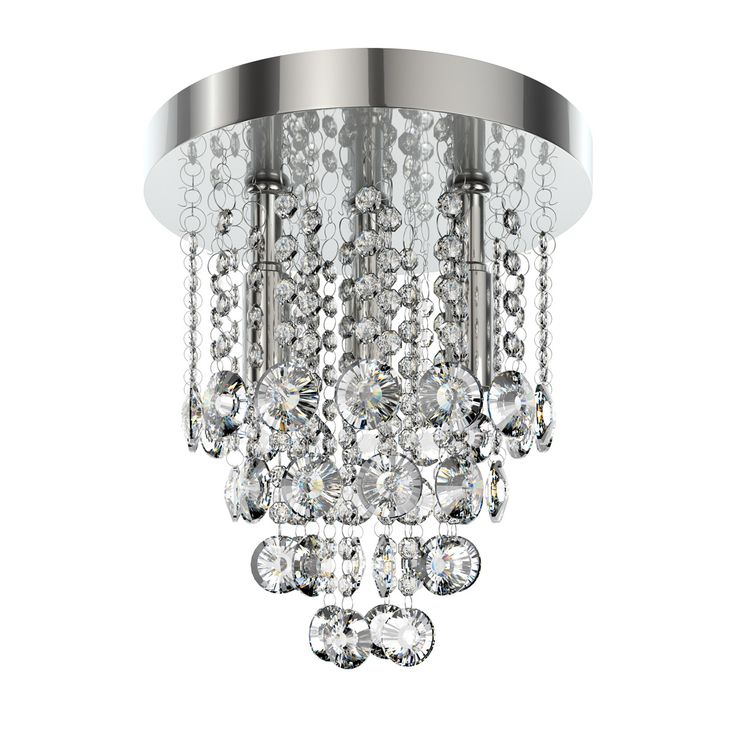 Forum lenah 260mm flush bathroom ceiling light