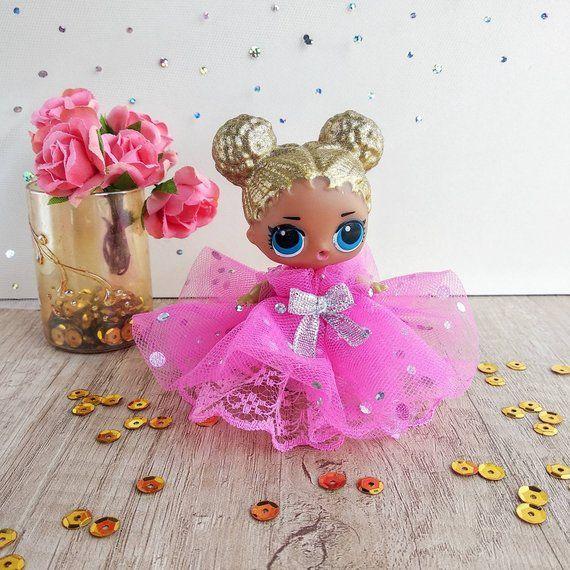 Lol Überraschung Puppe Geburtstag, Miniatur Puppe Kleid, Lol Kleid, Lol Puppe Kostüm, L …   – Products