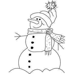 snowman  snowman coloring pages design store silhouette design