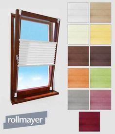 Fenster Plissee Klemmfix Selbstklebende Faltenrollo Jalousie Rollo ohne Bohren! in Möbel & Wohnen, Rollos, Gardinen & Vorhänge, Jalousien & Rollos | eBay
