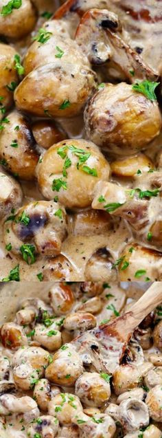 These Creamy Garlic Parmesan Mushrooms from The Recipe Critic are so creamy, delicious and go GREAT as a side dish — or even on top of your favorite steak or chicken! They are sautéed in a butter and garlic sauce until they are perfectly tender, YUM!