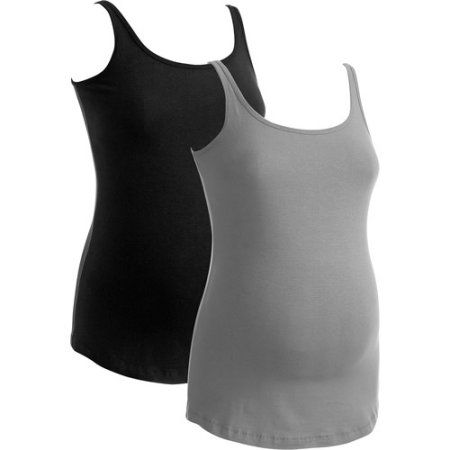 Maternity Cami, 2-Pack, Assorted