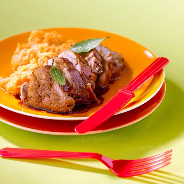 Découvrez la recette du mignon de porc au gingembre