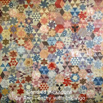 ~ Candied Hexagons by Ann Tenthy with Inklingo