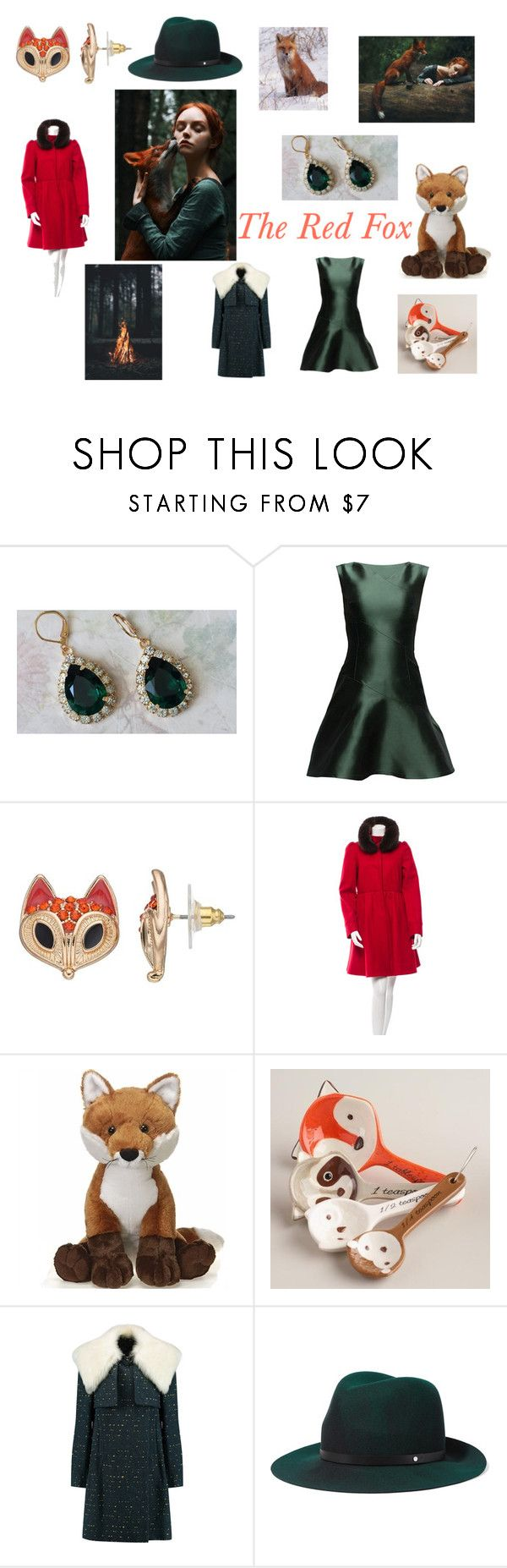 """""""The Red Fox"""" by katherine-hubbard on Polyvore featuring Lattori, Alice + Olivia, Cost Plus World Market, Chloé and rag & bone"""
