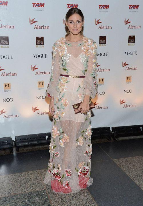 На ежегодном шоу Brazil Foundation Gala Party в Нью-Йорке в шикарном платье