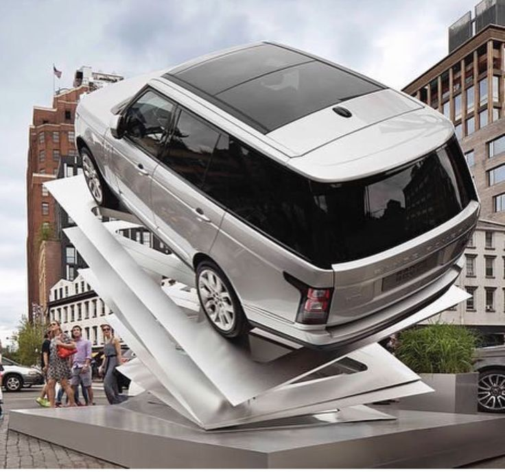 New Range Rover, is it art......