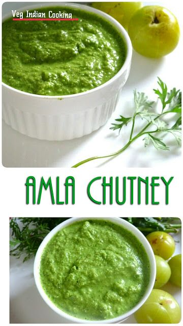 How to make Amla Ki Hari Chutney, Amla coriander chutney,  Indian Gooseberry