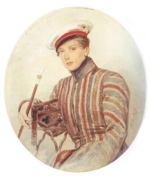Portrait of His Serene Highness Prince Alexander Suvorov by Alexander Briullov, 1830.