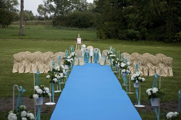 Ślub plenerowy Fot. Pieśń Studio