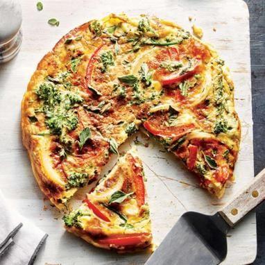 Ομελέτα φούρνου με λαχανικά - Tlife.gr
