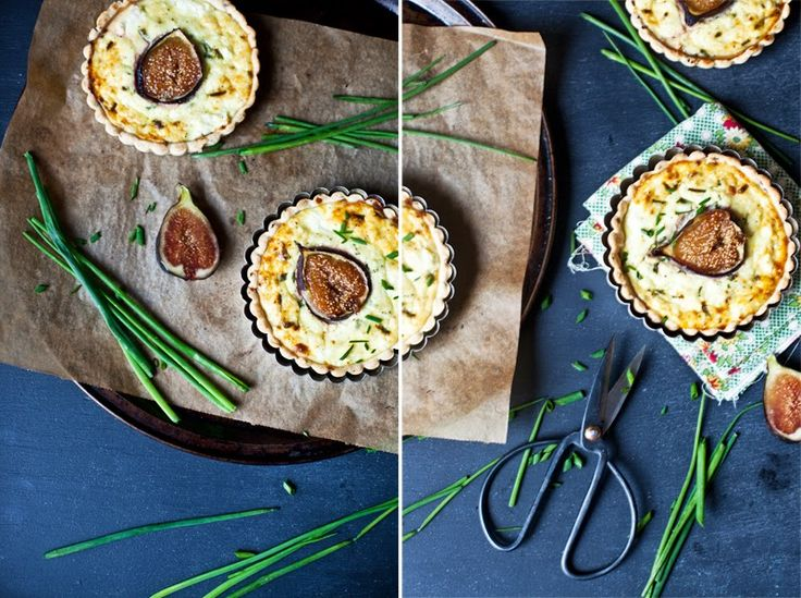 ... | Emilie Murmures | Pinterest | Figs, Goats Cheese Tart and Tarts