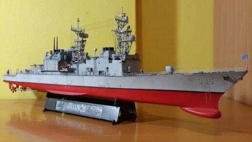 USS Cushing 1/350 Dragon
