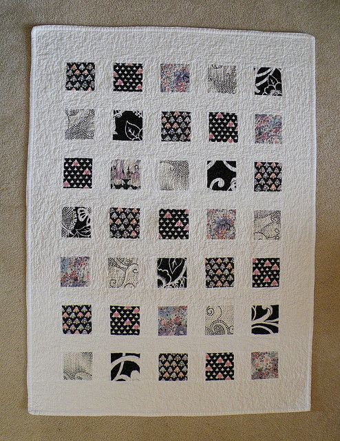 29 best black white and 50 shades of gray quilts images for Black white and gray quilt patterns