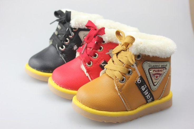 2013 зима шнуровкой хлопок ботинки дети хлопок дети мальчиков и девочек теплый ребенок туфли панк мартин ботинки бесплатная доставка 324 купить на AliExpress