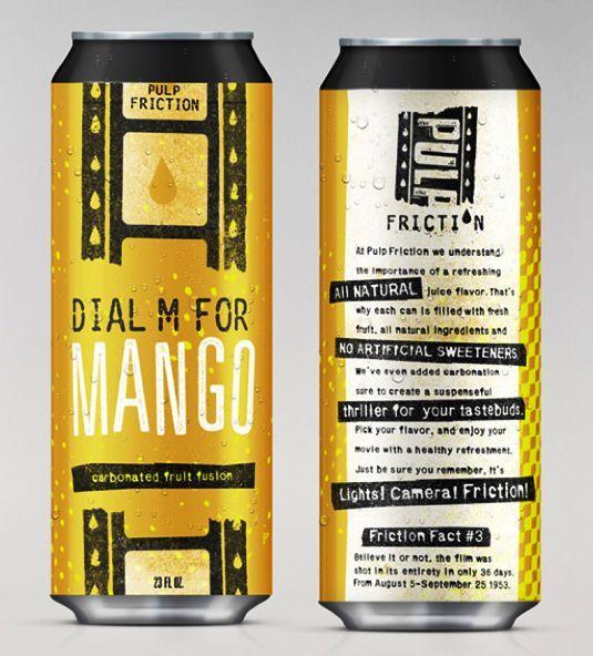 Contoh Desain Kemasan Unik Menarik - Contoh desain kemasan unik menarik - packaging design - Movie-inspired drinks