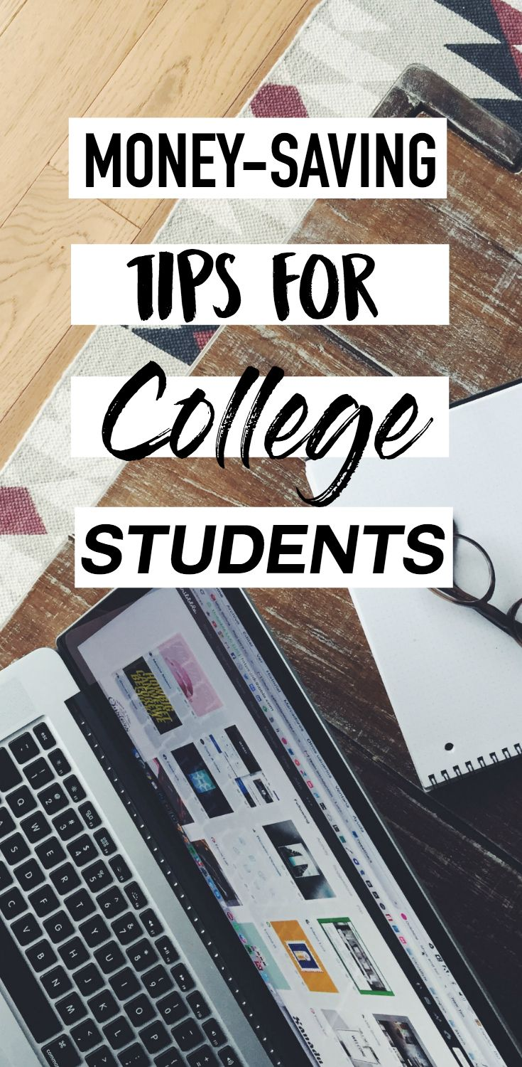 5 money-saving tips that EVERY college student needs to know. Click here to find out!