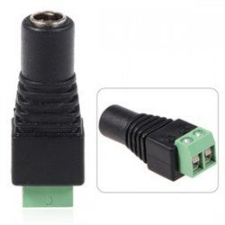 12V Female 2.1x5.5mm DC Power Jack Plug Adapter Connector GG