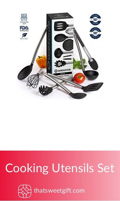 Cooking Utensils Set #thatsweetgift