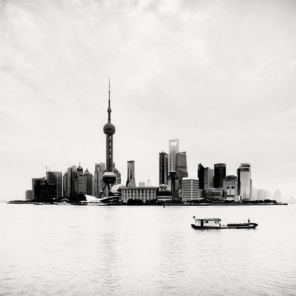 "Island, Shanghai, China, 2010. Proyecto fotográfico ""Megalopolis Shanghai"" de Martin Stavars."