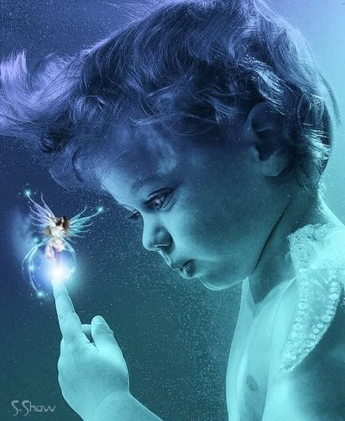 The magic of a childs wonderment, few things are more precious. ~Charlotte (PixieWinksFairyWhispers)