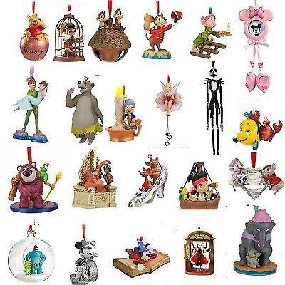Disney Ornaments 2010 2011 2012 And New 2013 Sketchbook