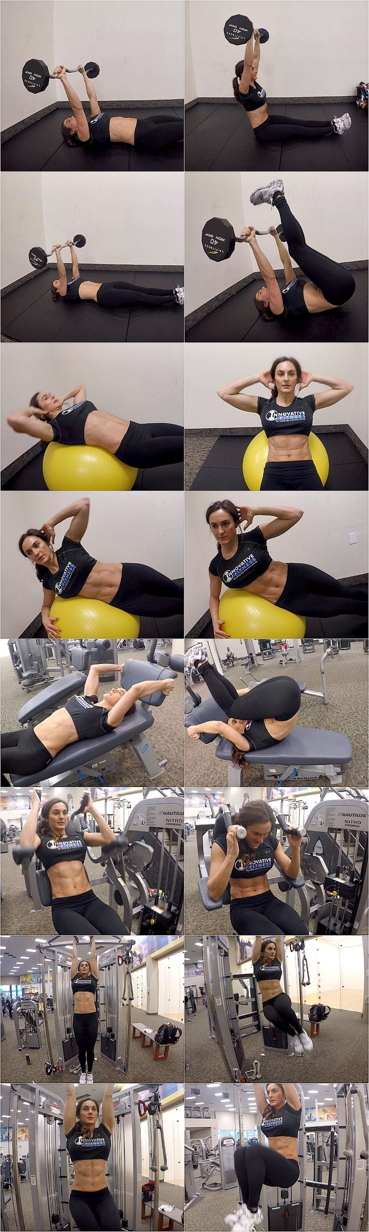 10 WEEKS TO FITNESS-DAY 41: ABS